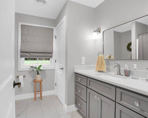 SW 7642 Pavestone vanity
