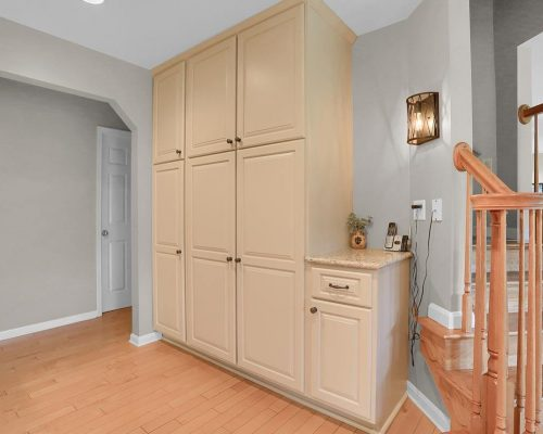 Pantry cabinet work area