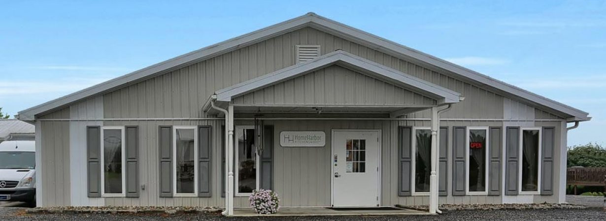 Outside view of Home Harbor Showroom