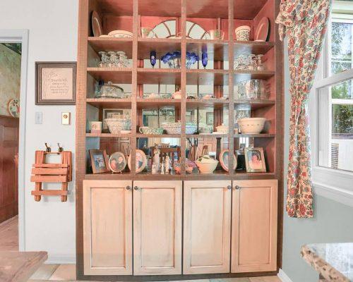 Rustic Farmhouse Hutch cabinet
